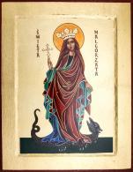Ikona Święta Małgorzata duża - ,