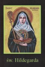 Ikona Twojego Patrona - św. Hildegarda - ,