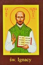 Ikona Twojego Patrona - św. Ignacy - ,