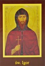 Ikona Twojego Patrona - św. Igor - ,