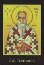Ikona Twojego Patrona - św. Ireneusz - ,