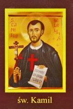 Ikona Twojego Patrona - św. Kamil - ,