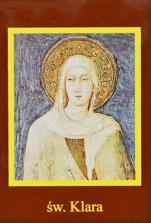 Ikona Twojego Patrona - św. Klara - ,