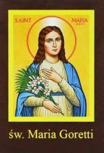 Ikona Twojego Patrona - św. Maria Goretti - ,