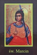 Ikona Twojego Patrona - św. Marcin - ,
