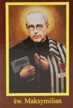 Ikona Twojego Patrona - św. Maksymilian Kolbe - ,