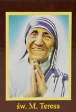 Ikona Twojego Patrona - św. Matka Teresa - ,