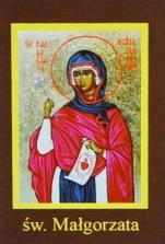 Ikona Twojego Patrona - św. Małgorzata - ,