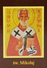 Ikona Twojego Patrona - św. Mikołaj - ,