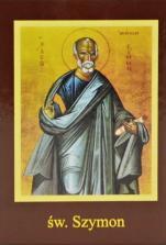 Ikona Twojego Patrona - św. Szymon Apostoł - ,