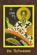 Ikona Twojego Patrona - św. Sylwester - ,