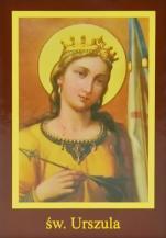 Ikona Twojego Patrona - św. Urszula - ,