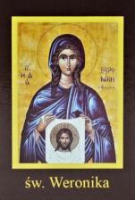 Ikona Twojego Patrona - św. Weronika - ,