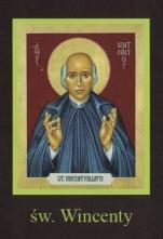 Ikona Twojego Patrona - św. Wincenty - ,