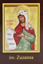 Ikona Twojego Patrona - św. Zuzanna - ,