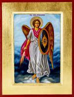 Ikona Święty Michał Archanioł / tarcza średnia - ,