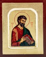 Ikona Święty Marek Apostoł bardzo mała - ,