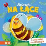 Zwierzęta na łące  - Z szablonami do odrysowania, Ilona Brydak