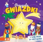 Przygoda Gwiazdki z szablonami do odrysowania - Z szablonami do odrysowania, Ilona Brydak