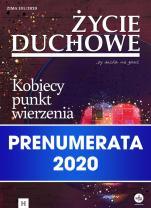 Życie duchowe - prenumerata 2020 - rocznik, prenumerata elektroniczna, Jacek Siepsiak SJ (red. nacz.)