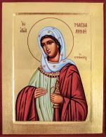 Ikona Święta Maria Magdalena duża - ,