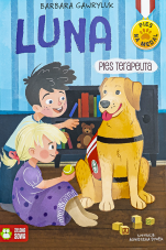 Luna, pies terapeuta - , Barbara Gawryluk