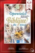 Opowieści biblijne dla dzieci CD - , Aleksandra Polewska