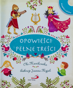 Opowieści pełne treści + CD - + CD z piosenkami, Ola Manikowska