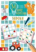 Mądry dzieciak. Sudoku - , Katarzyna Sarna, Natalia Berlik