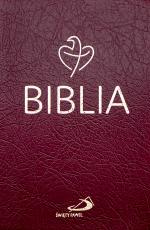 Biblia Tabor bordowa PCV - Stary i Nowy Testament,