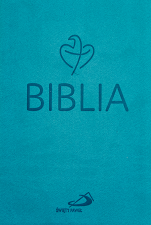 Biblia Tabor turkusowa flexy - Stary i Nowy Testament,