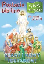 Postacie biblijne gra memory - Stary i Nowy Testament. Gra memory,