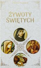 Żywoty świętych okładka biała - , Michał Duława