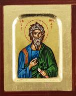 Ikona Święty Andrzej bardzo mała - ,