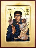 Ikona Święty Antoni z Padwy mała - ,