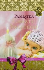 Pamiątka chrztu świętego / Rolników różowa - , oprac. Urszula Haśkiewicz