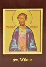 Ikona Twojego Patrona - św. Wiktor - ,