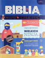 Biblia w infografikach dla dzieci  - , Praca zbiorowa