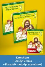 Przyjmujemy Pana Jezusa Pakiet z ebookiem dla katechetów do klasy 3 szkoły podstawowej - Pakiet z ebookiem dla katechetów do klasy 3 szkoły podstawowej, red. Władysław Kubik SJ