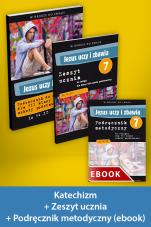 Jezus uczy i zbawia Pakiet z ebookiem dla katechetów do klasy 7 szkoły podstawowej - Pakiet z ebookiem dla katechetów do klasy 7 szkoły podstawowej, red. Zbigniew Marek SJ