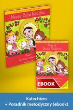 Nasza Boża Rodzina Pakiet z ebookiem dla katechetów do nauki religii dla dzieci trzyletnich - Pakiet z ebookiem dla katechetów do nauki religii dla dzieci trzyletnich, red. Władysław Kubik SJ