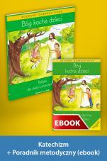 Bóg kocha dzieci Pakiet z ebookiem dla katechetów dla dzieci czteroletnich - Pakiet z ebookiem dla katechetów do nauki religii dla dzieci czteroletnich, red. Władysław Kubik SJ