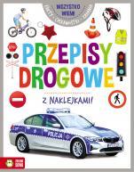 Wszystko wiem! Przepisy drogowe z naklejkami - z naklejkami, Katarzyna Pawlak