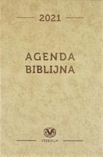 Agenda biblijna 2021 beżowa mała - ,
