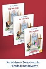 Bóg - nasz Ojciec Pakiet dla katechetów do klasy 1 szkoły podstawowej - Pakiet dla katechetów do klasy 1 szkoły podstawowej, red. ks. Władysław Kubik SJ