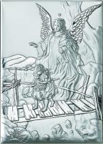 Anioł Stróż z dziećmi na kładce 81202 3L - 81202 3L,