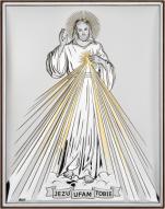 Jezu ufam Tobie złoto DS34/2O - DS34/2O,