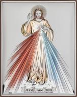 Jezu ufam Tobie kolorowy DS34/2C - DS34/2C,