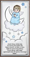 Aniołek na chmurce niebieski DS35/2CC - DS35/2CC,