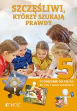 Szczęśliwi, którzy szukają prawdy - Podręcznik do religii dla klasy V szkoły podstawowej, ks. Krzysztof Mielnicki, Elżbieta Kondrak